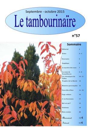 revue Tambourinaire 57