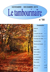 Le Tambourinaire No 58