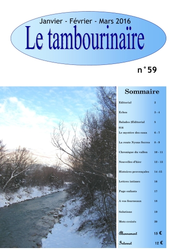 Le Tambourinaire N°59