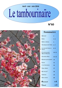 Le Tambourinaire N°60
