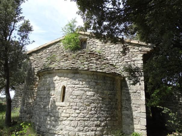 La chapelle Saint-Marcel à Taulignan