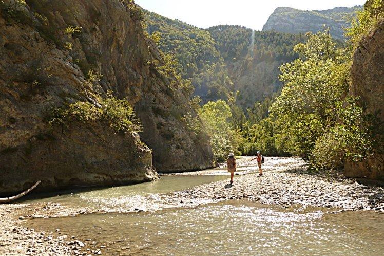Les pieds dans l'Oule (Cornillon, Drôme)