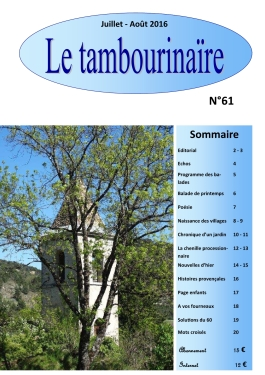 TAMBOURINAIRE 61