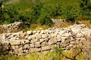 Les murs de Villeperdrix