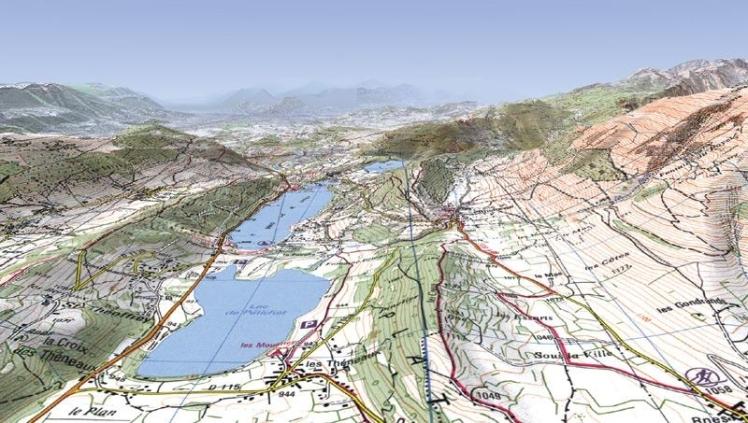 carte-ign-3336ot-plateau-matheysin