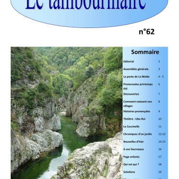 Le Tambourinaire N° 62