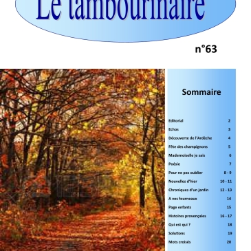 Le Tambourinaire n°63