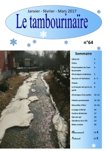 Le Tambourinaire N° 64