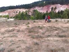 Les terres rouges de Bédoin