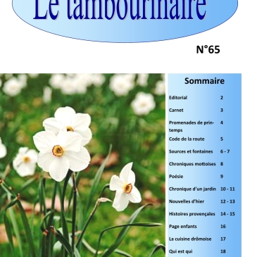 LE TAMBOURINAIRE N° 65