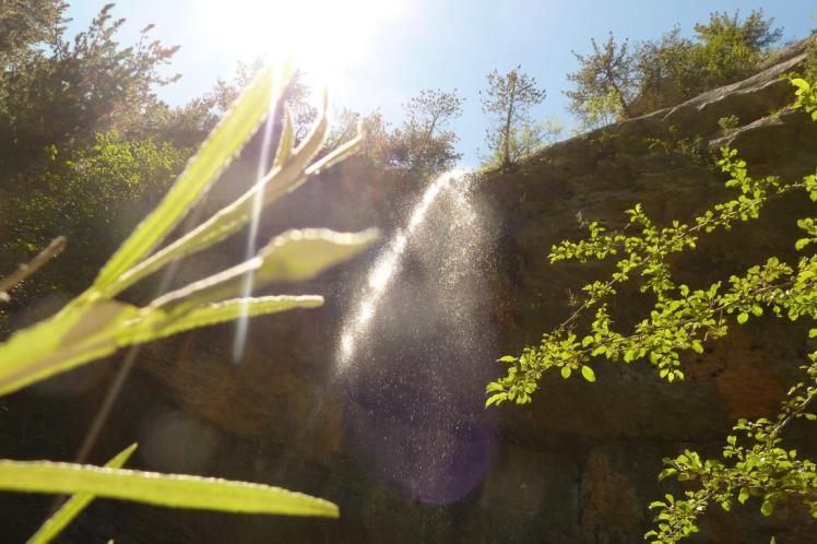 Cascade de Putaval à Valdrôme