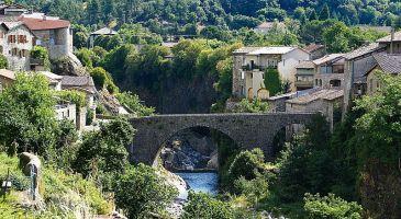 Le pont de Jaujac